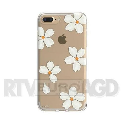 Etui FLAVR iPlate White Petals do Apple iPhone 6 Plus/7 Plus/6s Plus/8 Plus Wielokolorowy (30040) (4029948065830)