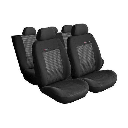 Pokrowce samochodowe miarowe ELEGANCE POPIEL 3 Seat Leon I 1999-2005 - Seat Toledo II