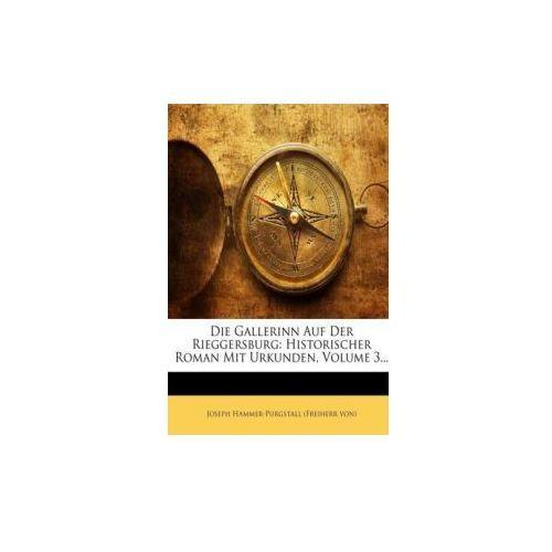 Die Gallerinn Auf Der Rieggersburg: Historischer Roman Mit Urkunden, Volume 3... (9781247998992)