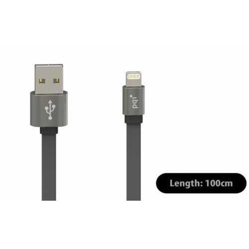 Apple Pqi i-cable metallic lightning 100cm iron-gray