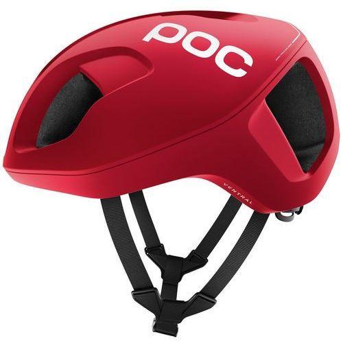 ventral spin kask rowerowy czerwony m | 54-60cm 2018 kaski rowerowe marki Poc