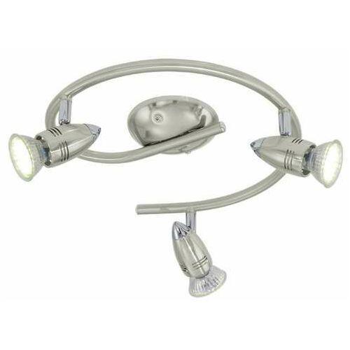 Eglo magnum-led lampa sufitowa nikiel matowy - 165 lumenów - - obszar wewnętrzny - magnum-led - 3000 kelwin