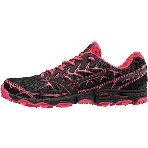 Mizuno wave hayate 4 buty do biegania kobiety różowy/czarny uk 7 | eu 40,5 2018 buty szosowe (5054698476314)