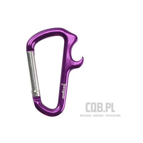 Brelok KeyGear Bottle Opener Carabiner Purple KEY002838
