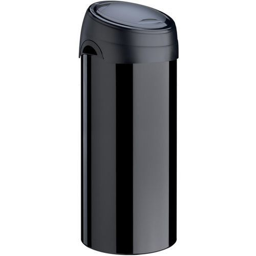 Meliconi s.p.a. Kosz na śmieci meliconi soft-touch 40l czarny + darmowy transport! (8006023065448)