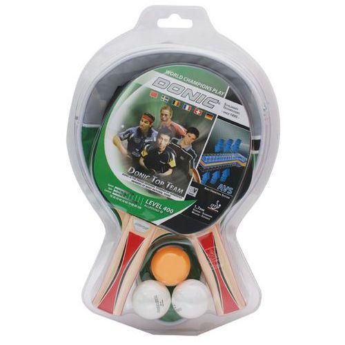 Zestaw 2 rakietek do tenisa stołowego DONIC TOP TEAM 400 - sprawdź w wybranym sklepie