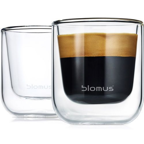 Szklanki do espresso 80ml Blomus Nero 2 sztuki (B63652) (4008832636523)