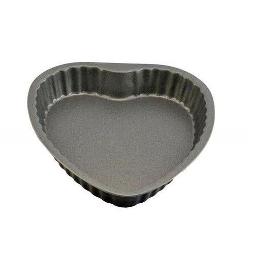 Forma do pieczenia ciast w kształcie serca 25 cm czarna marki Fissler
