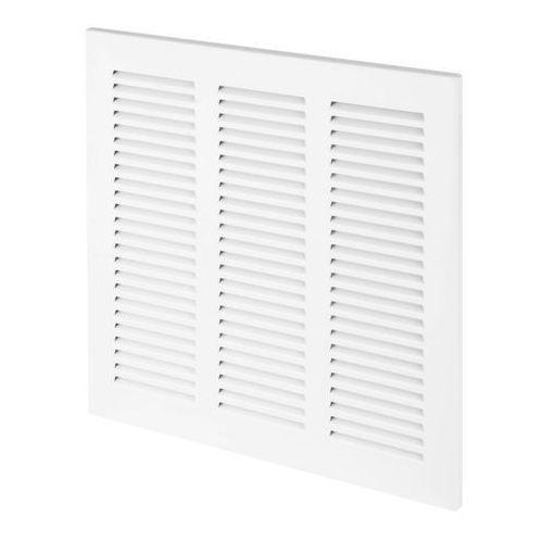 Kratka dekoracyjna metalowa 24 x 24 cm biała marki Velite