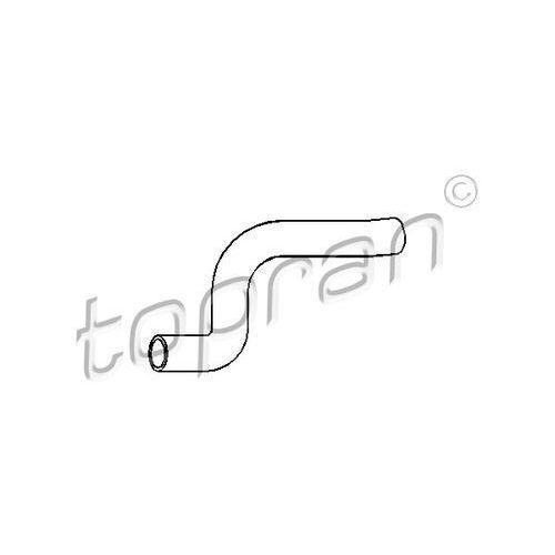Przewód elastyczny chłodnicy TOPRAN 103 835