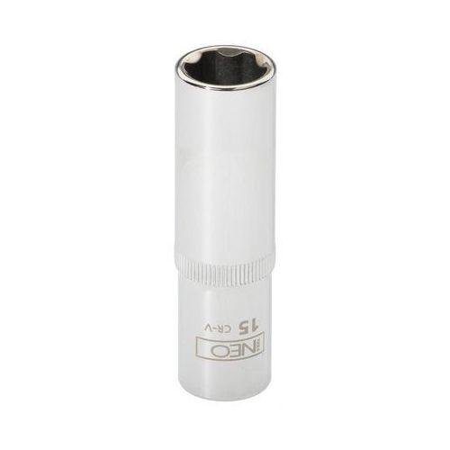Nasadka sześciokątna NEO 08-044 1/2 cala długa Superlock 15 mm, T N08-044