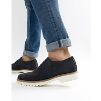 Ben sherman highland lace up shoes in navy suede - blue