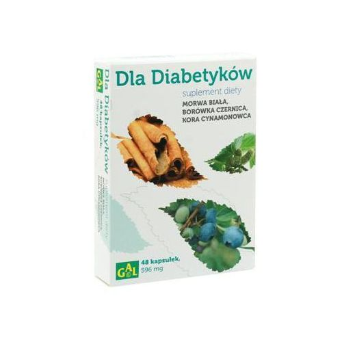 Dla Diabetyków (Morwa Biała + Borówka + Cynamon) 48 kaps. (kapsułki)