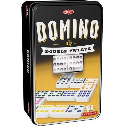 Domino dwunastkowe w puszce z oknem marki Tactic