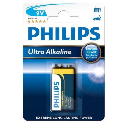 Philips Bateria alkaliczna ultra alkaline 6lr61 9v (blister) (8712581557133)