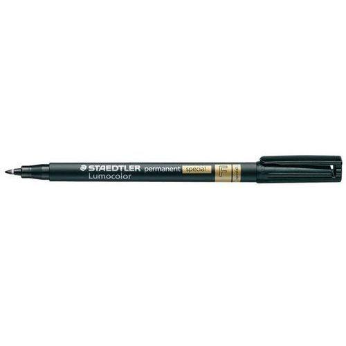 STAEDTLER Foliopis LUMOCOLOR special F, 0,6mm, wodoodporny, czarny