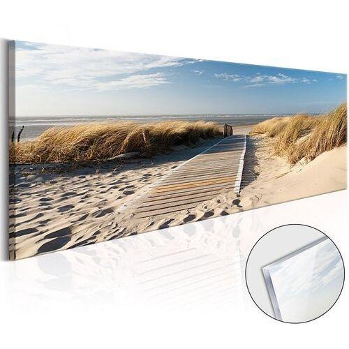 Artgeist Obraz na szkle akrylowym - dzika plaża [glass]