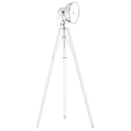 Lampa podłogowa Argon Foto 3356 NEW fotograficzna 12W LED biała/chrom