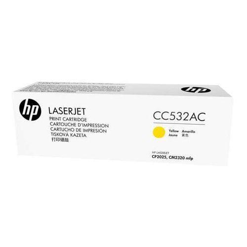 oryginalny toner HP 304A [cc532ac] yellow - korporacyjny, CC532AC