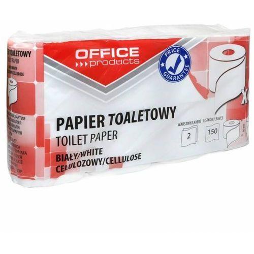 Papier toaletowy 2W celuloza 15m biały (8) - X06521 z kategorii papier toaletowy