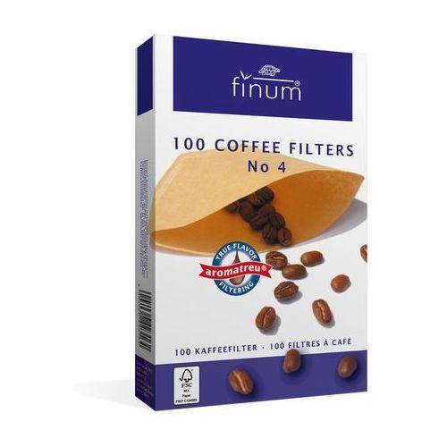 Finum filtry do kawy nr 4 100 szt., 1817