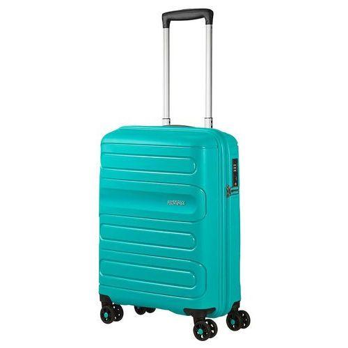 American tourister sunside mała walizka kabinowa 20/55 cm / turkusowa - aero turquoise