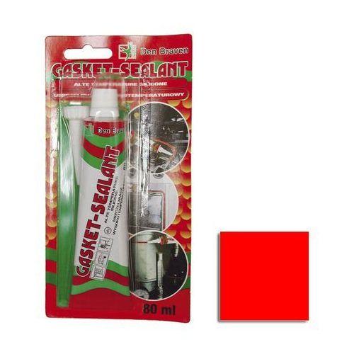 Den braven Silikon gasket-sealant wysokotemperaturowy 80 ml czerwony (8711595033367)