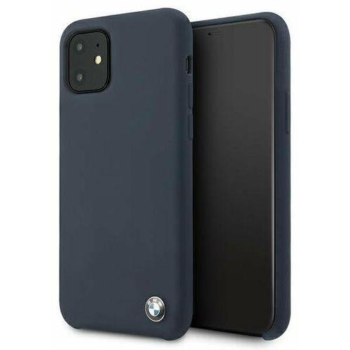 Bmw Etui bmhcn61silna iphone 11 granatowy/navy hardcase silicone signature (3700740462966)