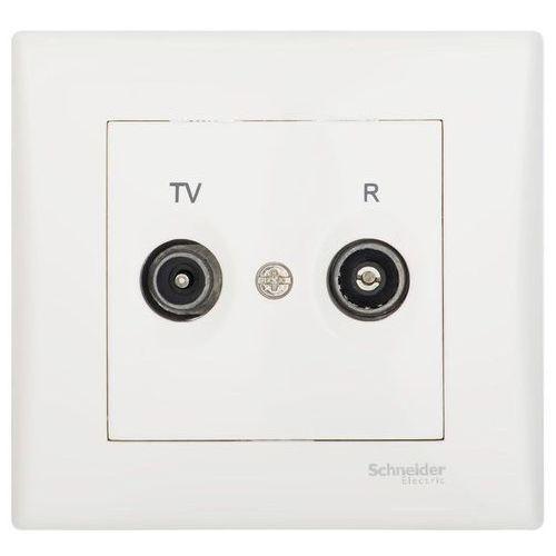 Gniazdo RTV przelotowe SEDNA SCHNEIDER ELECTRIC (8690495056136)