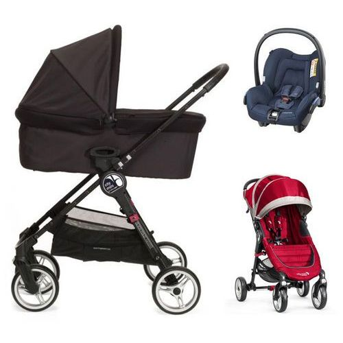Baby Jogger City Mini 4+GRATIS+gondola+fotelik (do wyboru)