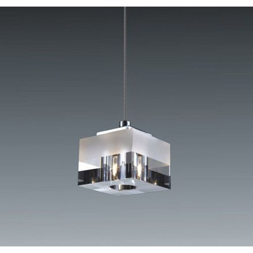 LAMPA wisząca CUBRIC MD9216-1A Italux szklana OPRAWA halogenowa ZWIS kostka cube box biała przezroczysta (5900644342366). Najniższe ceny, najlepsze promocje w sklepach, opinie.