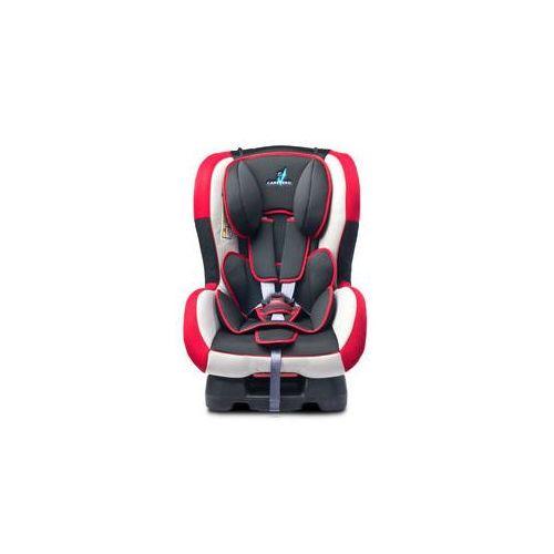 Caretero Fotelik samochodowy fenix 0-18 kg (czerwony)