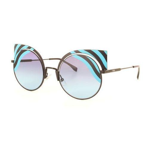 Fendi Okulary słoneczne ff 0215/s hypno shine 0lb/jf