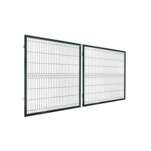 Polbram Brama dwuskrzydłowa stark 400 x 150 cm zielona