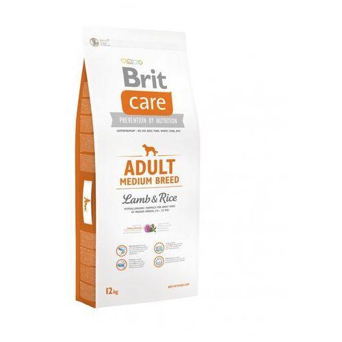 care adult medium breed lamb & rice12- zamów do 16:00, wysyłka kurierem tego samego dnia! marki Brit