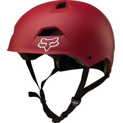 Fox flight sport kask rowerowy mężczyźni czerwony m | 55-56cm 2018 kaski rowerowe