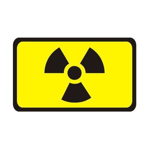 Naklejka na drzwi strefa radioaktywna marki Splendid
