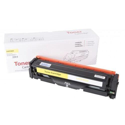 Toner Yellow HP 201X zamiennik CF402X 2.3K Toner Yellow HP 201X zamiennik CF402X 2.3K