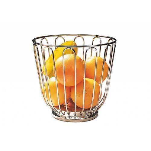 Aps Koszyk na owoce ze stali nierdzewnej | Ø215x205 mm