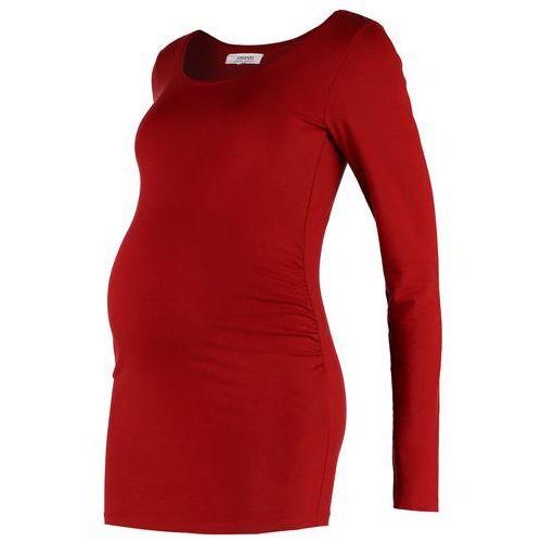 Zalando Essentials Maternity Bluzka z długim rękawem dark red (4054788528214)