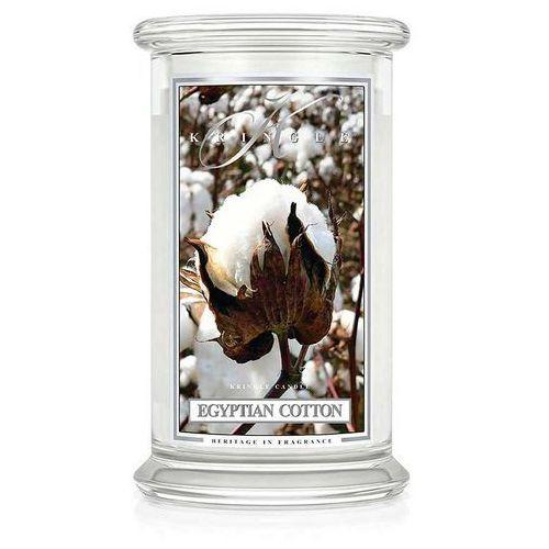 Kringle candle Egyptian cotton świeca zapachowa duży słoik 22oz, 623g, 2 knoty
