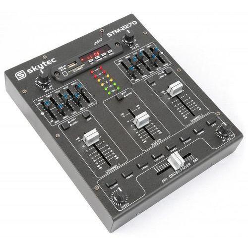 stm-2270 4-kanałowy mikser bluetooth usb sd mp3 fx marki Skytec