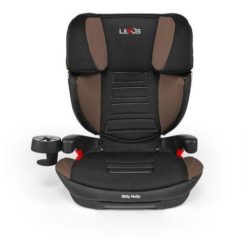 Milly Mally, Lexus, fotelik samochodowy, 15-36 kg, Brown