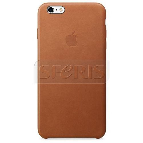 Apple iPhone 6s Plus Leather Case Saddle Brown - MKXC2ZM/A