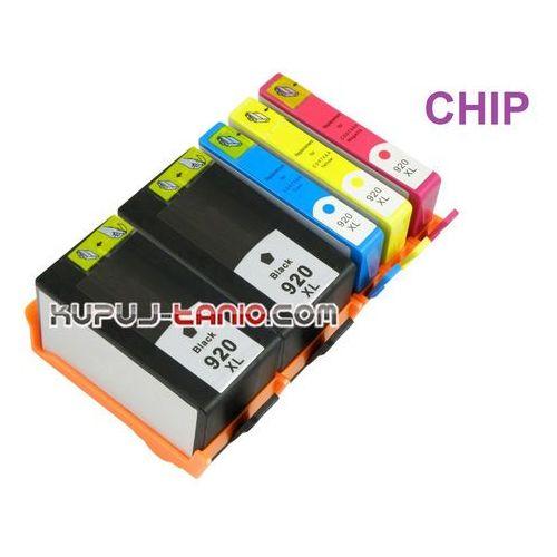 Kupuj-tanio .hp920xl tusze do hp (5 szt z chipami, bt) tusze do hp officejet 7500a, hp officejet 7000, hp officejet 6500a, hp officejet 6500, hp officejet 6000 (6949853649213)
