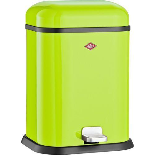 Kosz na śmieci zielony pedałowy Single Boy 13 litrów Wesco (132212-20) (4004519034644)