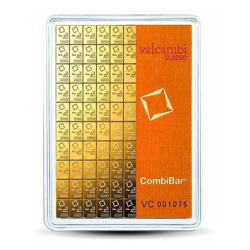 100 x 1 g Sztabka złota CombiBar - 15 dni