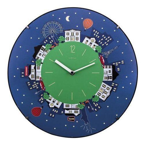Zegar ścienny little planet dome marki Nextime