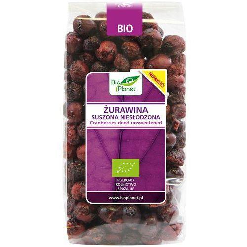 Żurawina suszona niesłodzona bio 50 g bio planet marki Bio planet - seria fioletowa (owoce suszone)