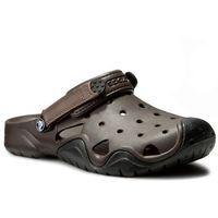 Klapki CROCS - Swiftwater Clog M 202251 Espresso/Black
